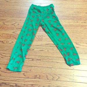 Other - Green and red soft Christmas pants